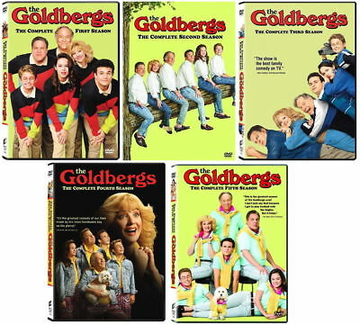 BRAND NEW The Goldbergs: Complete Series Seasons 1-5 12345 DVD SET FREE SHIPPING
