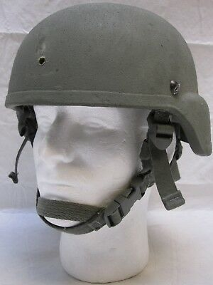 Sds Army Advanced Combat Helmet Made W/ Kevlar Ach Large 8470-01-523-0071 Used