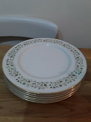 6 X Royal  Doulton  Westfield Dinner Plates