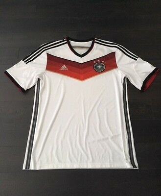 2437e54e31313 Germany National Football Soccer Team 2014 World Cup Home Shirt Jersey  Maillot