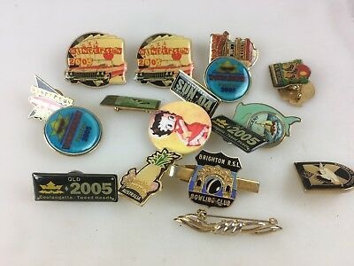 Badges & Pins - Lot Of Various Items - Please See Photos