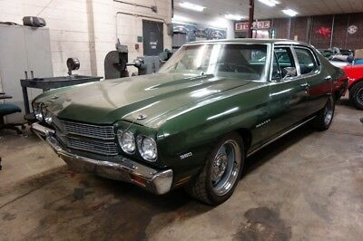 1970 Chevelle -SUPER SLEEPER 572 CI BIG BLOCK-MUNCIE 4 SPEED Forest Green Chevrolet Chevelle with 0 Miles available now!