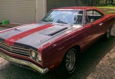 1969 Road Runner -RESTORED- 440 - 4 Speed Red Plymouth Road Runner with 0 Miles available now!
