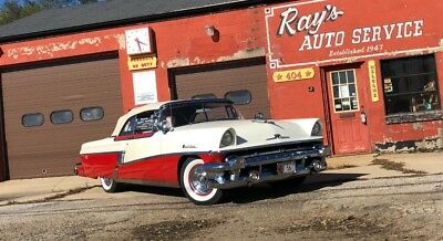 1956 Montclair -CONVERTIBLE-GROUND UP RESTORED-AACA GRAND CHAMPIO Red/ White Mercury Montclair with 80,548 Miles available now!