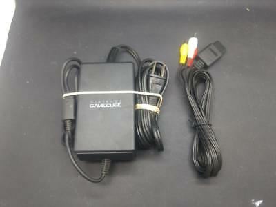 Replacement Gamecube Power Cord//Power Supply and AV Cable