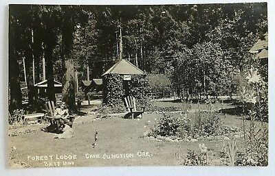 FOREST LODGE CAVE JUNCTION OR RPPC POSTCARD  Unposted