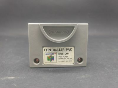 Official Nintendo 64 N64 OEM Memory Card Controller Pak **FREE SHIPPING*
