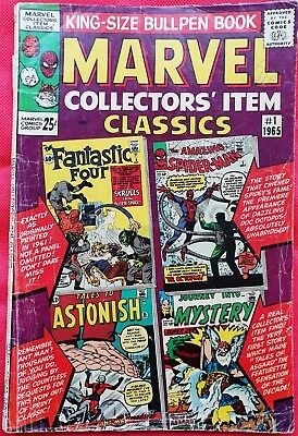 MARVEL COLLECTORS ITEMS CLASSIC 1 KINGSIZE Marvel Silver Age 1965