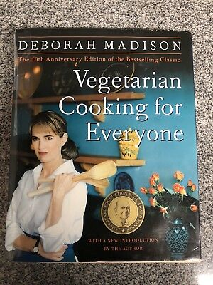 Vegetarian Cooking for Everyone by Deborah Madison 10th Anniversary Edition