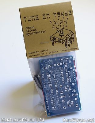 Tune In Tokyo sound effect synth noise DIY kit from Rare Waves LLC