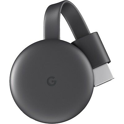 Google Chromecast 3 Streaming Wlan HDMI USB Mediaplayer Carbonio