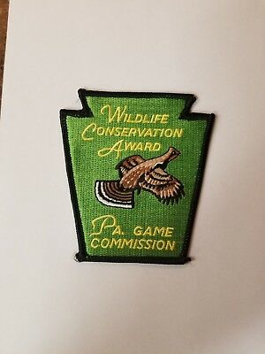 PA Game Commission Wildlife Conservation Award patch