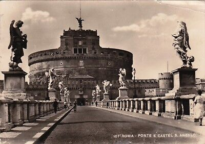 POSTCARD -  Roma.         Posted 1950