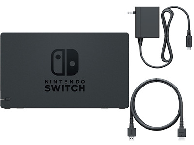 Genuine Nintendo Switch Dock, HDMI Cable and AC Adapter Power Cord NEW Set