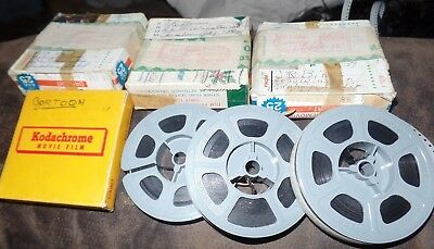 Vintage LOT 8mm Home Movie Film Reel, GROWING UP IN ANAHEIM CALIFORNIA USA CA