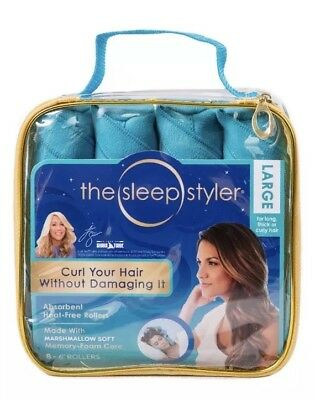 """Allstar Innovations Sleep Styler: Large (6"""" Rollers), 8 Count"""