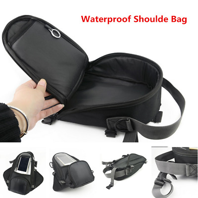 Waterproof Oxford Cloth Motorcycle Tank Bag Pouch Phone Holder For Harley Honda