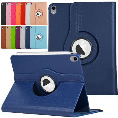 360 Rotating Leather Smart Cover Silicone Case For Apple iPad 9.7 6th Gen 2018