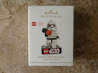 2012 Hallmark Star Wars LEGO Imperial Stormtrooper Keepsake Ornament NEW