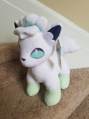 Build-A-Bear Pokemon 6 in 1 sound with card  ALOLAN VULPIX unstuffed nwt bab