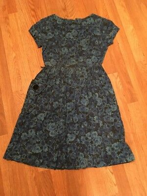 Vintage 1940's 1950's  Retro Women's Cotton  Dress Pin Up Girl Mode O Day
