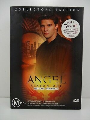 ANGEL Season One - Part One - Episodes 1-11  COLLECTORS EDITION DVD