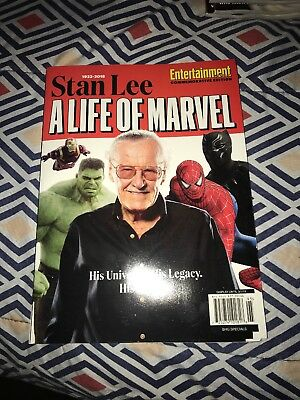 Stan Lee: A Life Of Marvel - Entertainment Weekly Collectors Edition 2018
