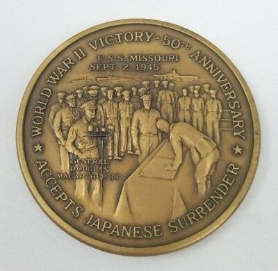 1995 World War II 50th Anniversary Commemorative Victory Coin Japanese Surrender
