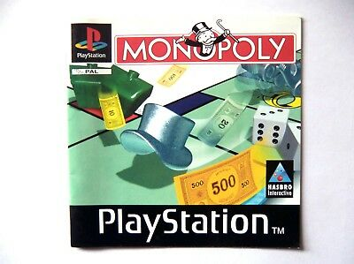 51892 Instruction Booklet - Monopoly - Sony Playstation 1 (1997) SLES 00945
