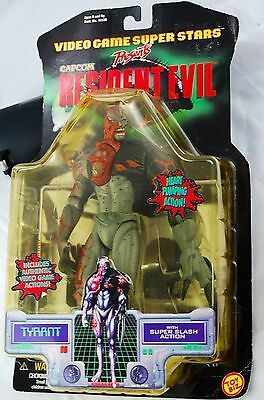 Resident Evil Toy Biz  Capcom Action Figure Tyrant  1998  Factory Sealed