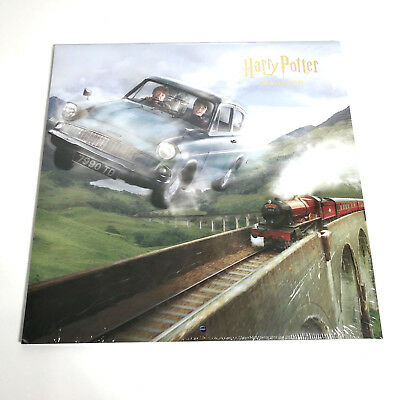 Authentic Offical - Harry Potter 2019 - 12 Month Wall Calendar Large - New!