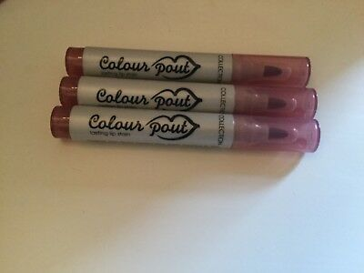 3 X Collection Colour Pout Lasting Lip Stain 2.kiss New