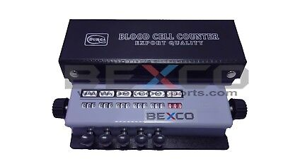 Brand BEXCO Blood Cell Counter 5 keys + Case Lab Equipment DHL Express Ship