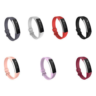 Replacement Silicone Wristband Wrist Band Strap Bracelet For Fitbit Alta HR G