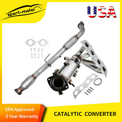 1997-2000 Toyota Camry 3.0L V6 GAS DOHC EPA Catalytic Converter /& Pipe Fits