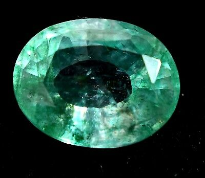 4.95 Ct Natural Green Colombian Emerald AGSL Certified Loose Gem Stone From Muzo