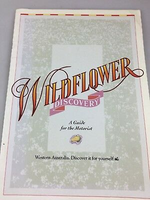 Windflower Discovery Brochure - A Guide For The Motorist - Western Australia