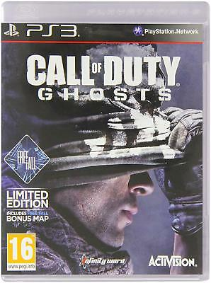 Call of Duty: Ghosts Limited Edition Sony PlayStation 3 PS3 Brand New SEALED