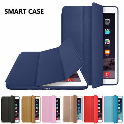 Magnetic Leather Smart Cover Case for iPad Air Mini 1 2 3 4 Pro 9.7 10.5 USA