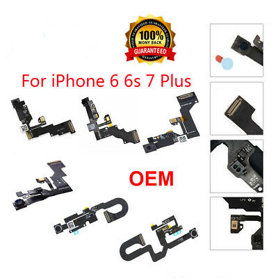 OEM Front Face Camera Proximity Light Sensor Flex Cable For iPhone 6 6S Plus 7 8