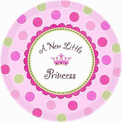 SET OF 6 X PERSONALISED 89 x120.7MM A NEW LITTLE PRINCESS WINE BOTTLE LABELS