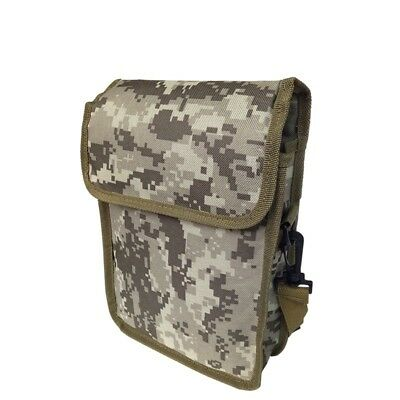 Metal Detector Camo Bag Finds Pouch W/ Waist Belt Camping Hiking Tool Bag