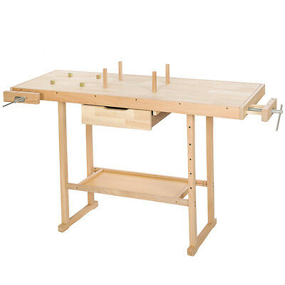 Workbench Bench Crafts Table Carpentry Wood Craftsmanship Carpenter 137x50x87cm