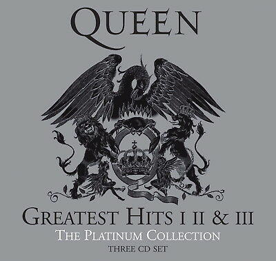 QUEEN - 3 CDs PLATINUM COLLECTION / GREATEST I, II & III (40th Annivers. Remast)