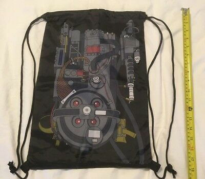 Ghostbusters Proton Pack Drawstring Backpack - LootCrate NEW 2018