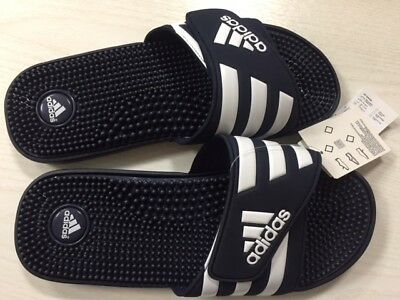 best cheap 90968 69eb0 adidas ADISSAGE Massagefunktion Badelatschen  navi-weiß  12 UK  47 D   Neu