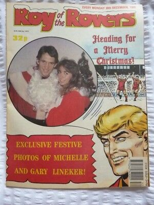 Roy of the Rovers Comic 30 12 1989 Exc