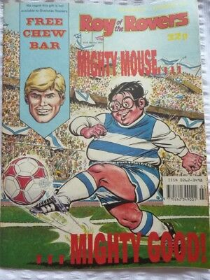 Roy of the Rovers Comic 13 01 1990 Exc