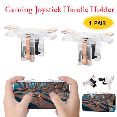 1 Pair Mobile Game Controller Sensitive Shoot and Aim Triggers For PUBG
