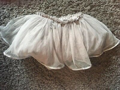 Girls Next Silver Tutu 9-12 Months
